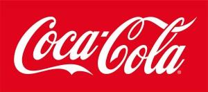 赤色ロゴ例コカ・コーラ