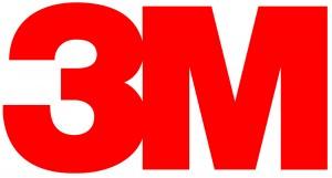 赤色ロゴ例3、3M