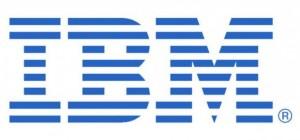 青色ロゴ例1、IBM