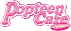 ピンク色ロゴ例2、popteen