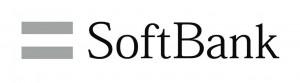 黒色ロゴ例2、softbank