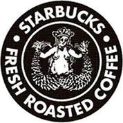 STARBUCKSリニューアル前のロゴ